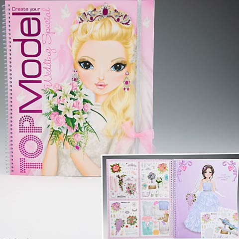 Top Model Wedding Special Colouring Book