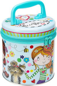 Zipped Hair Accessories Tin