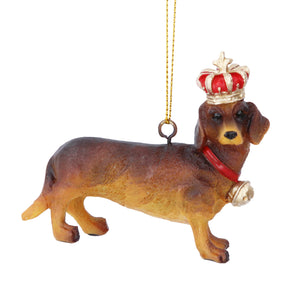 Resin Dachshund Decoration