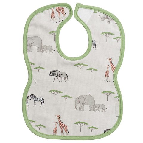 Safari Child's Bib