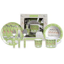 Load image into Gallery viewer, Safari Melamine Dinner Set