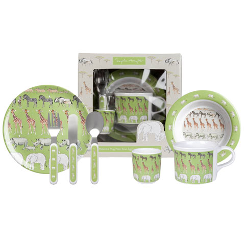 Safari Melamine Dinner Set