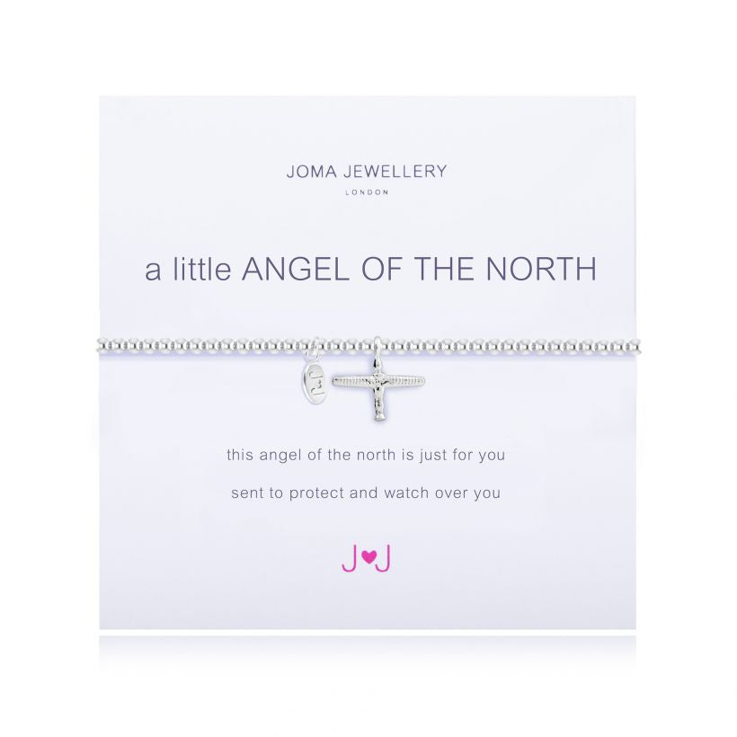A Little Angel Of The North Silver Joma Bracelet