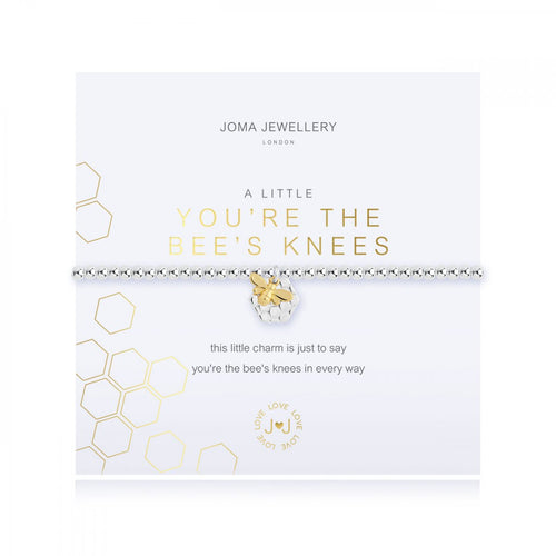 A Little You're The Bees Knees Silver Joma Bracelet