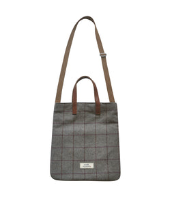 Harriet Grey Fog Heritage Tweed Bag