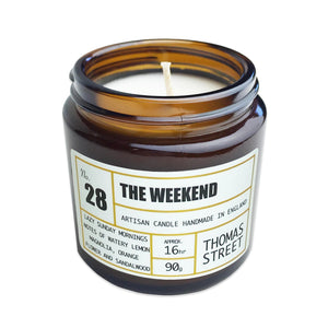 Thomas Street Apothecary Candle Jar 200g The Weekend