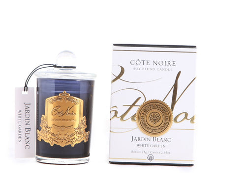 Cote Noire White Garden Small Glass Votive