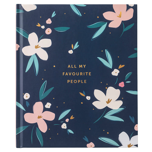 Pretty Petals Large Address Book