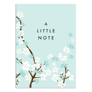 Boxed Notecards Winter Cherry Blossom