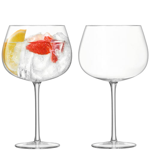 Cocktail Balloon Glass Pair