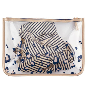Animal Print Travel Pouch