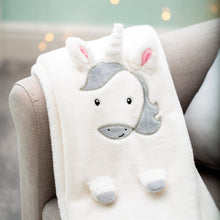 Load image into Gallery viewer, Evie Unicorn Soft Fleece Baby Blanket