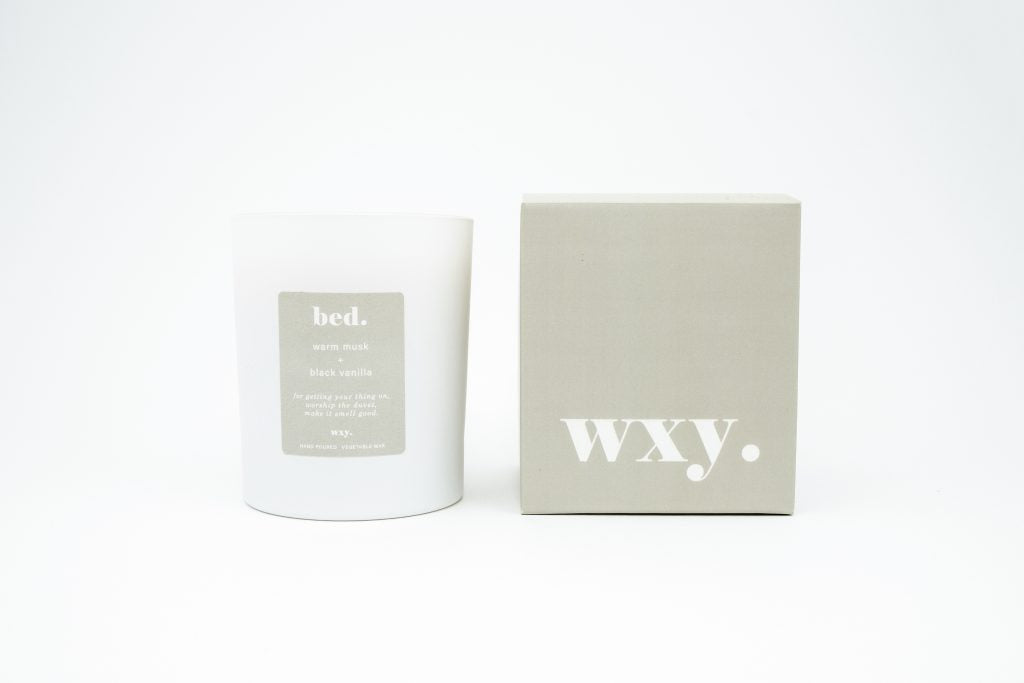 Bed Candle Warm Musk & Black Vanilla