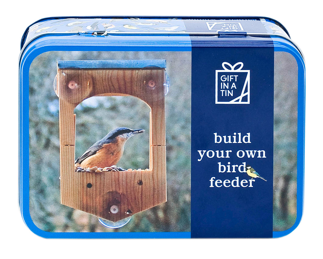 Build Your Own Bird Feeder In A Tin