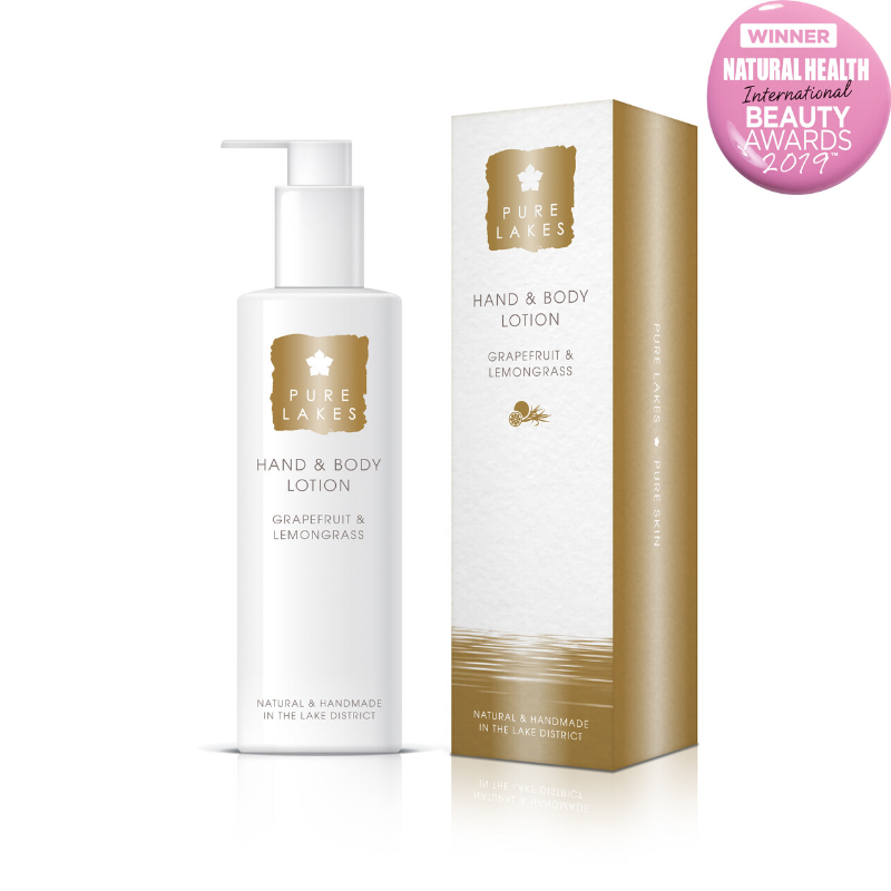 Grapefruit & Lemongrass Hand & Body Lotion 250ml