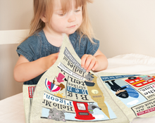 Load image into Gallery viewer, Jo & Nic's Crinkly Cloth Books Summer