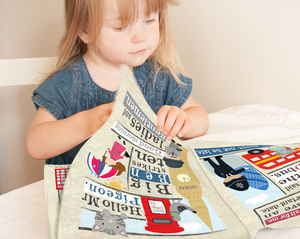 Jo & Nic's Crinkly Cloth Books Summer