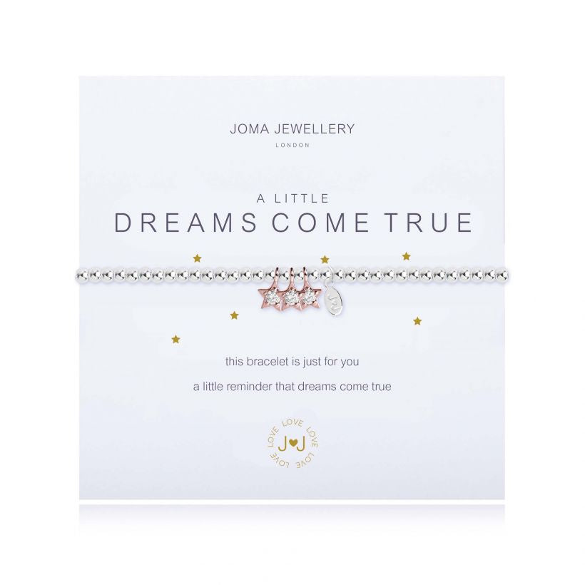 A Little Dreams Come True Silver Joma Bracelet