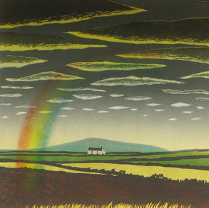 The Rainbow Greetings Card By Carol Lander