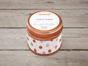 Lovely Friend Candle Tin