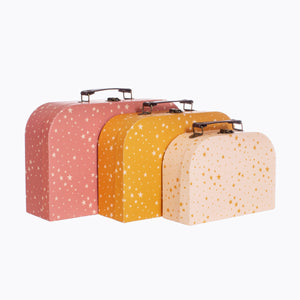 Little Stars Suitcases Set Of Three