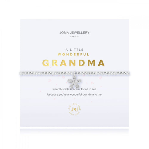 A Little Wonderful Grandma Silver Joma Bracelet
