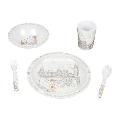 Disney Christopher Robin Melamine Dinner Set