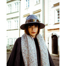 Load image into Gallery viewer, Sandie Knitted Scarf In Beige