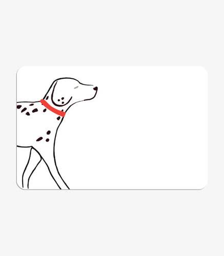 Thinklet's Pack Of Mini Message Cards Dalmatian