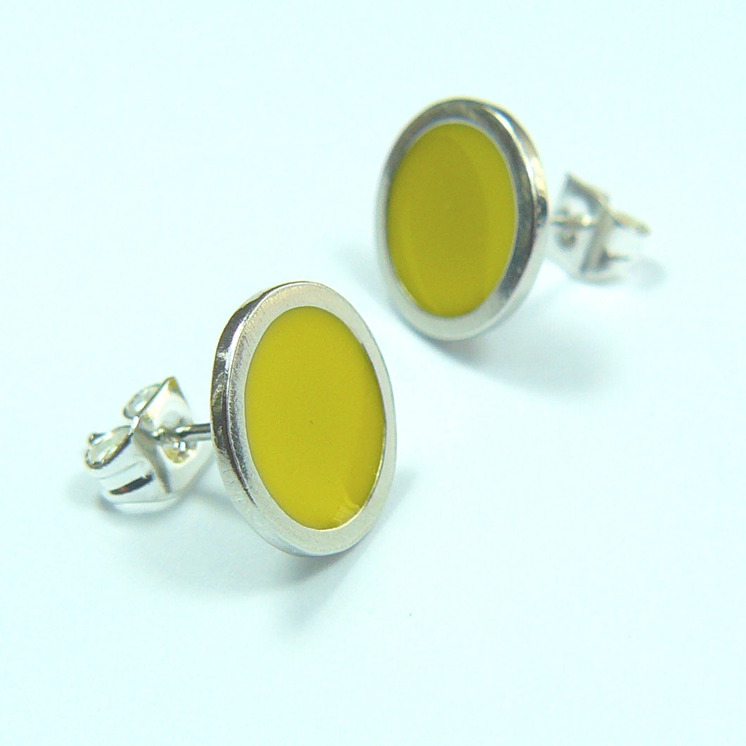 Bright Sun Stud Earrings