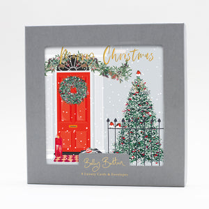Luxury Boxed Christmas Cards Red Door