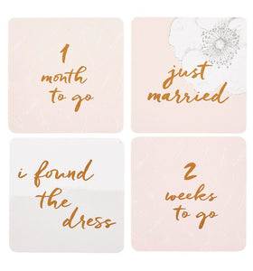 Wedding Countdown Cards