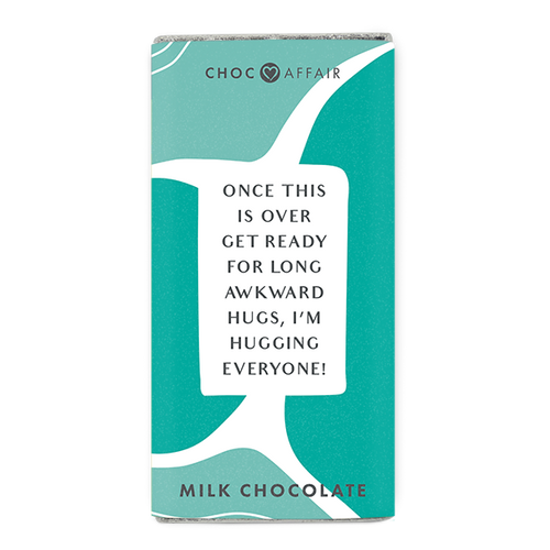 Milk Chocolate Message Bar