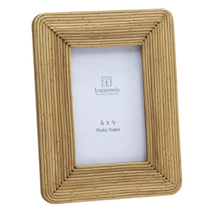 Boracay Cane Photo Frame