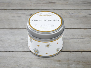 A Tin Of TLC GET Well Candle