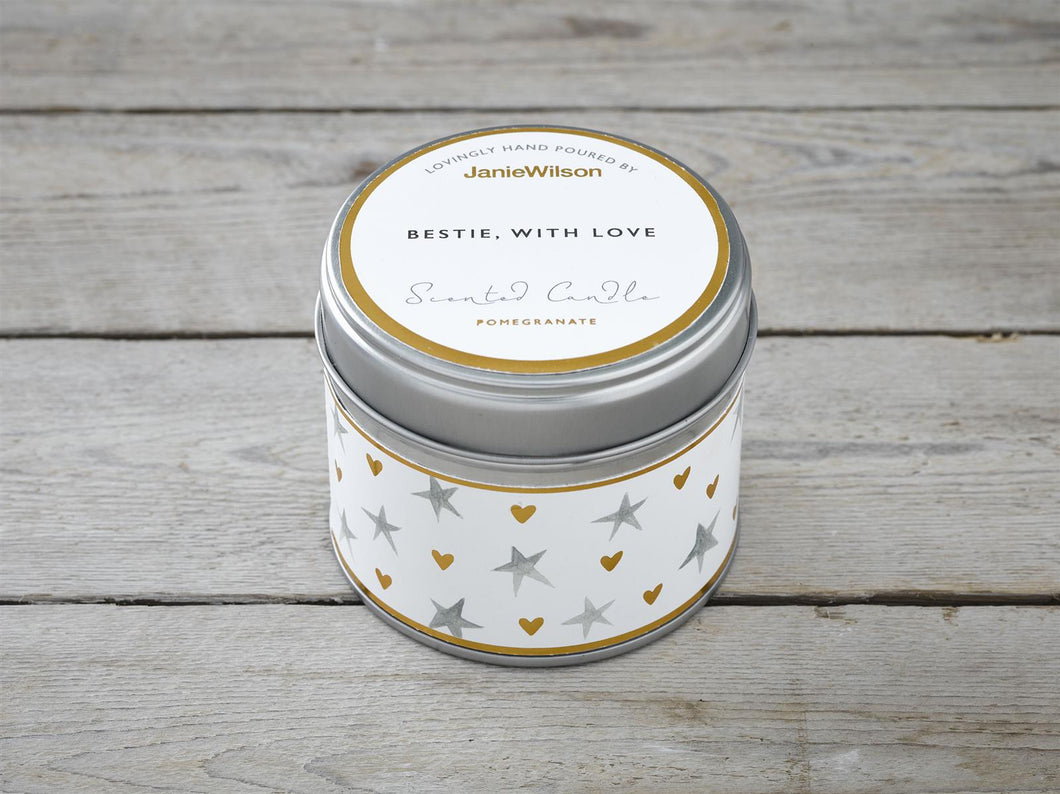 Bestie With Love Candle Tin