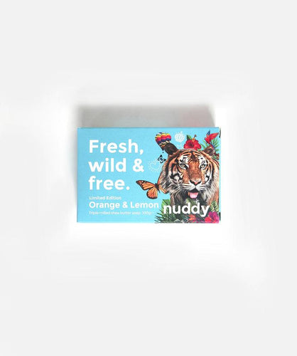 Nuddy Limited Edition Orange & lemon Soap 100g