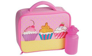 Think Pink Fairy Cupcake Lunch Bag with Bottle