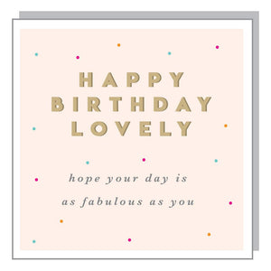Megan Claire Magnolia Birthday Greetings Card