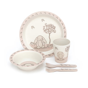 My Friend Bunny Bamboo Dinner Set
