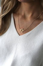 Load image into Gallery viewer, Tuti & Co Astrid Gold Star Necklace