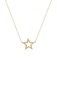 Tuti & Co Astrid Gold Star Necklace