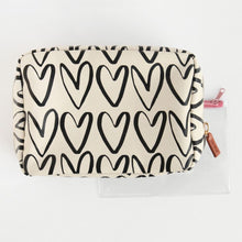 Load image into Gallery viewer, Hearts Travel Wash Bag