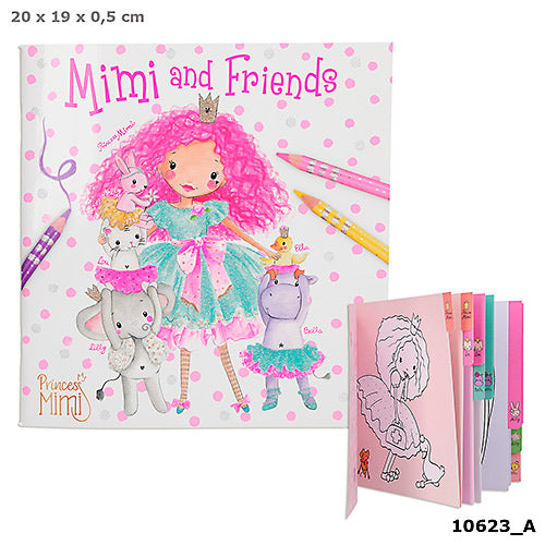 Mimi & Friends Colouring Book