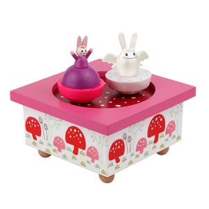 Angel Bunny Music Box