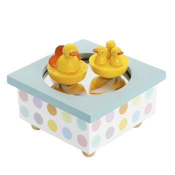 Mother Duck & Ducklings Music Box