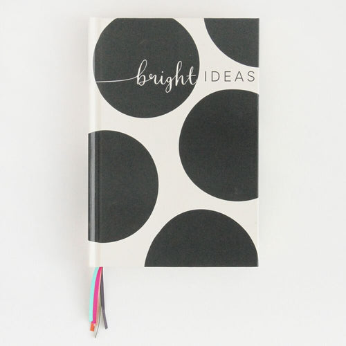 Luxury Big Spot Multi Ribbon Notebook