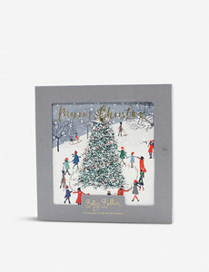 Luxury Boxed Christmas Cards Snow Scene
