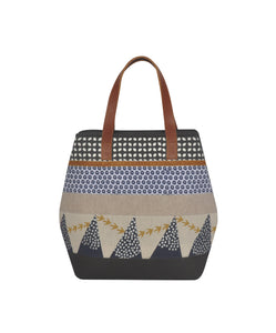 Sophie Screenprint Patchwork Ladies Handbag
