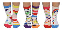 Load image into Gallery viewer, Over The Rainbow Set Of Six Odd-Socks